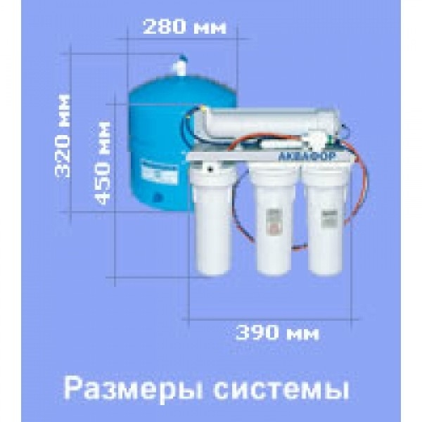 Осмос Аквафор ОСМО 50 (исп.6) - 1