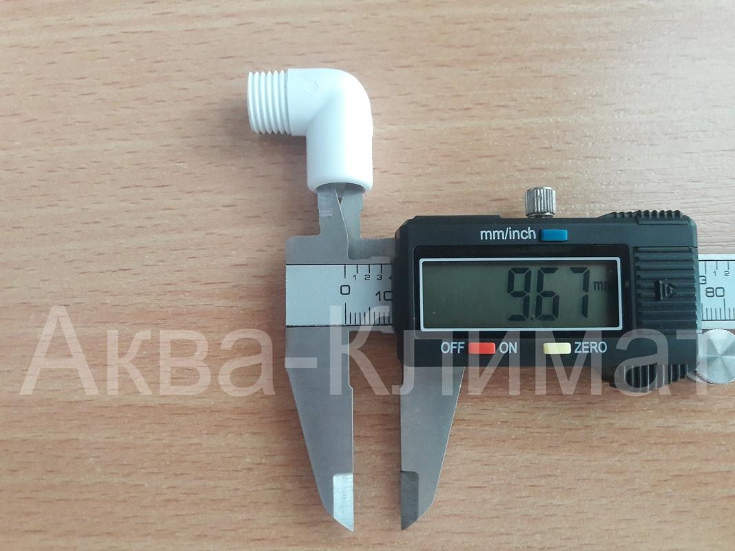 Выходной адаптер настольного фильтра (пластик) - 2