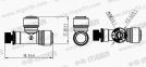 Игольчатый вентиль ITiger 0