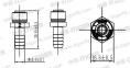Переходник прямой ШТ10 - БC1/4