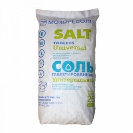 Соль таблетированная Мозырьсоль 25кг