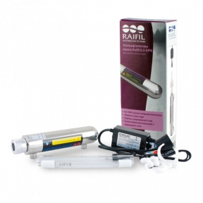 Ультрафиолетовый стерилизатор Raifil UV 0,5 GPM 6W