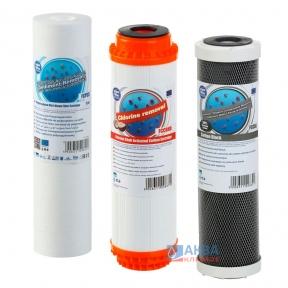 Набор Aquafilter Trio Chlor